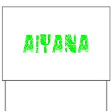 Aiyana Faded (Green) Yard Sign