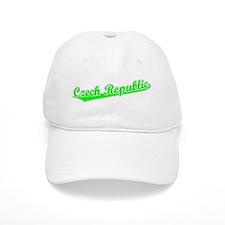 Retro Czech Republic (Green) Baseball Cap