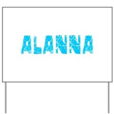 Alanna Faded (Blue) Yard Sign