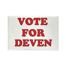 Vote for DEVEN Rectangle Magnet