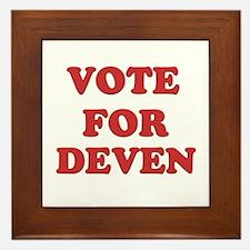 Vote for DEVEN Framed Tile