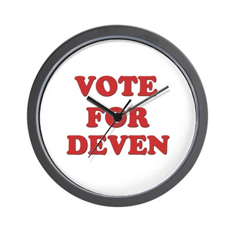 Vote for DEVEN Wall Clock