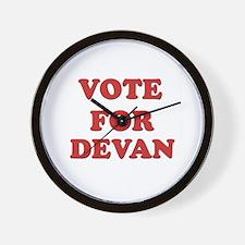 Vote for DEVAN Wall Clock