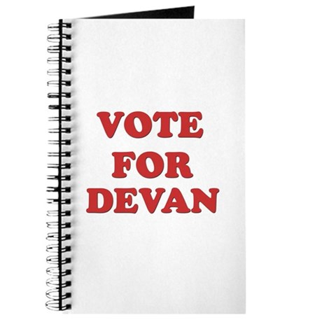 Vote for DEVAN Journal