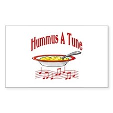 Hummus A Tune Rectangle Decal