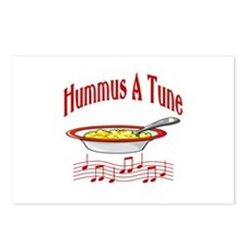 Hummus A Tune Postcards (Package of 8)