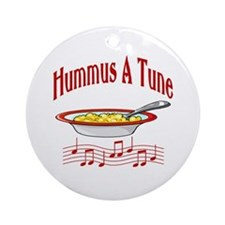 Hummus A Tune Ornament (Round)