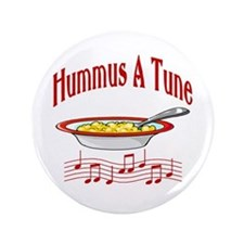 "Hummus A Tune 3.5"" Button"