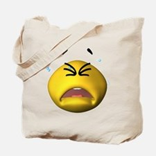 Silly Cry Baby Face Tote Bag