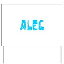 Alec Faded (Blue) Yard Sign