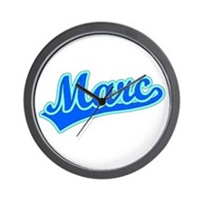 Retro Marc (Blue) Wall Clock
