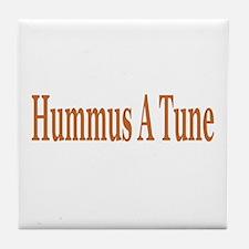 Hummus A Tune Tile Coaster