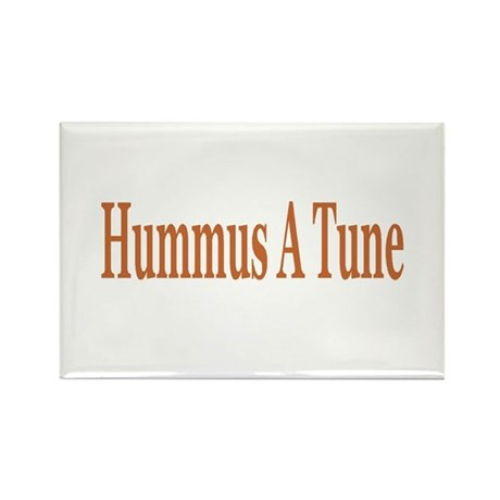 Hummus A Tune Rectangle Magnet