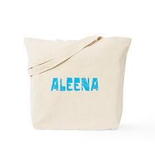 Aleena Faded (Blue) Tote Bag