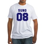 Sung 08 Fitted T-Shirt
