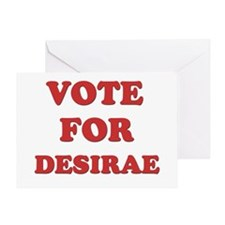Vote for DESIRAE Greeting Card