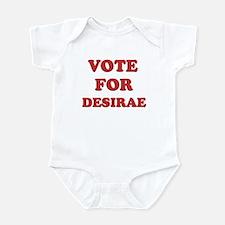 Vote for DESIRAE Onesie
