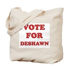 Vote for DESHAWN Tote Bag