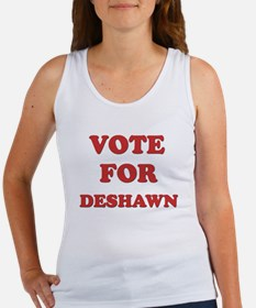 Vote for DESHAWN Women's Tank Top