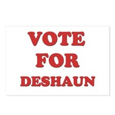 Vote for DESHAUN Postcards (Package of 8)