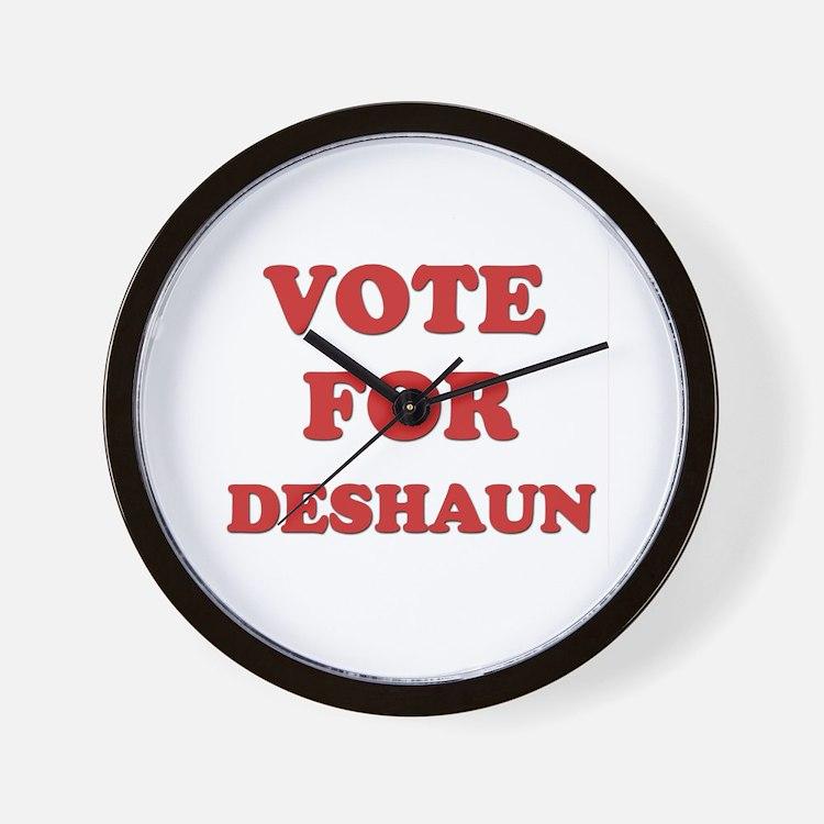 Vote for DESHAUN Wall Clock