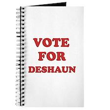 Vote for DESHAUN Journal