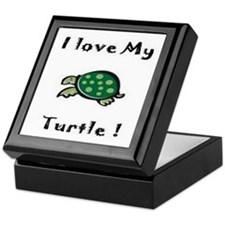 Cute Men turtle Keepsake Box