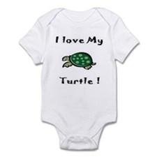 Cute Men turtle Infant Bodysuit
