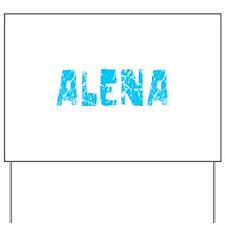 Alena Faded (Blue) Yard Sign