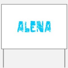 Alena Faded (Blue) Yard Sign