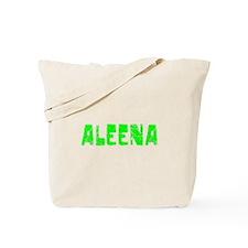 Aleena Faded (Green) Tote Bag