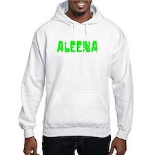 Aleena Faded (Green) Hoodie Sweatshirt