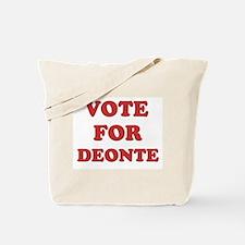 Vote for DEONTE Tote Bag