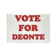 Vote for DEONTE Rectangle Magnet