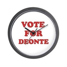 Vote for DEONTE Wall Clock