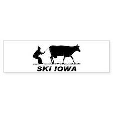 The Ski Iowa Store Bumper Stickers