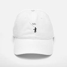 """""""Salty Flyrodder"""" Baseball Baseball Cap"""