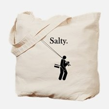 """Salty Flyrodder"" Tote Bag"