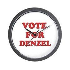 Vote for DENZEL Wall Clock