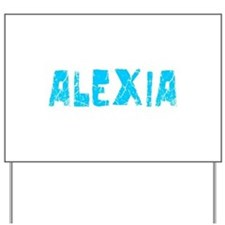 Alexia Faded (Blue) Yard Sign