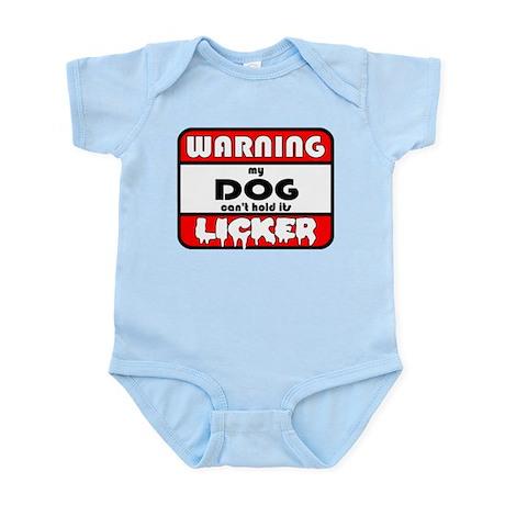 Dog LICKER Infant Bodysuit