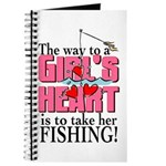 Fishing - Way to a Girl's Heart Journal