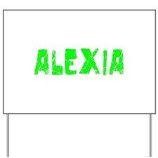 Alexia Faded (Green) Yard Sign