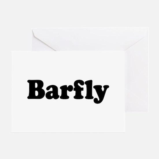 Barfly Greeting Card