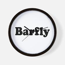 Barfly Wall Clock
