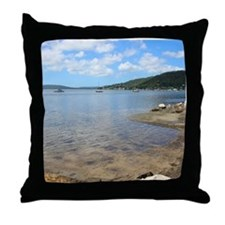 Brisbane Waters, NSW Throw Pillow