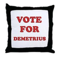 Vote for DEMETRIUS Throw Pillow