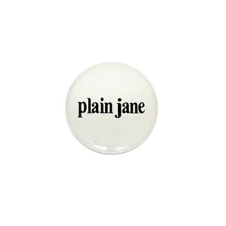 Plain Jane Mini Button (10 pack)