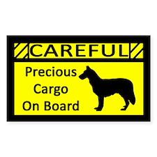 Precious Cargo Chinook Sticker (Rect)
