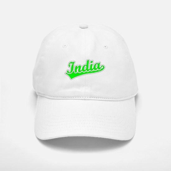 Retro India (Green) Cap